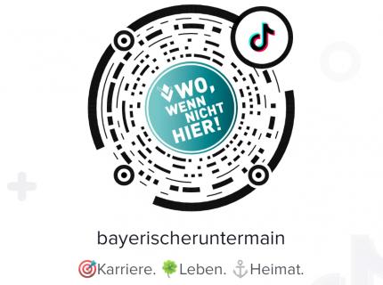 QR-Code Bayerischer Untermain