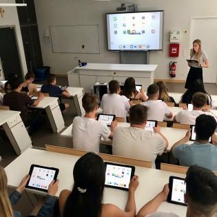 Digitales Klassenzimmer Realschule Großostheim